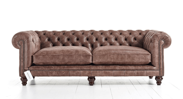 Distinctive Chesterfields Hampton Chesterfield Sofa