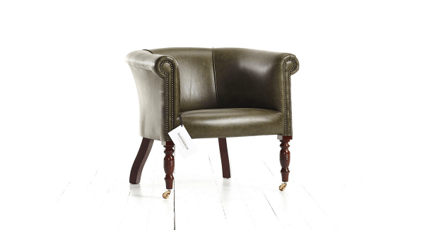 Distinctive Chesterfields Oxford Plain Tub Chair