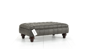 Distinctive Chesterfield Marlborough Footstool