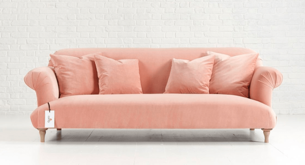 Distinctive Chesterfields Plain Jane Sofa